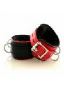 Bonkum Wrist or Ankie Cuffs( Leather and Lockable)