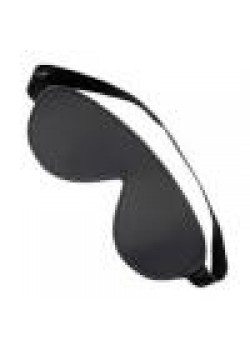 Leather Blindfold Black